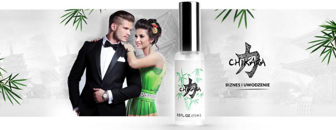 Chikara - perfumowane feromony dla mężczyzn