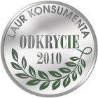 BioTrendy - Laur konsumenta odkrycie 2010