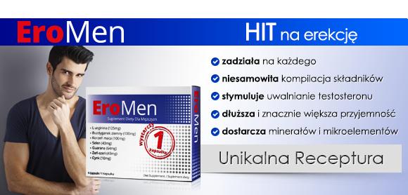 EroMen - tabletki na erekcję