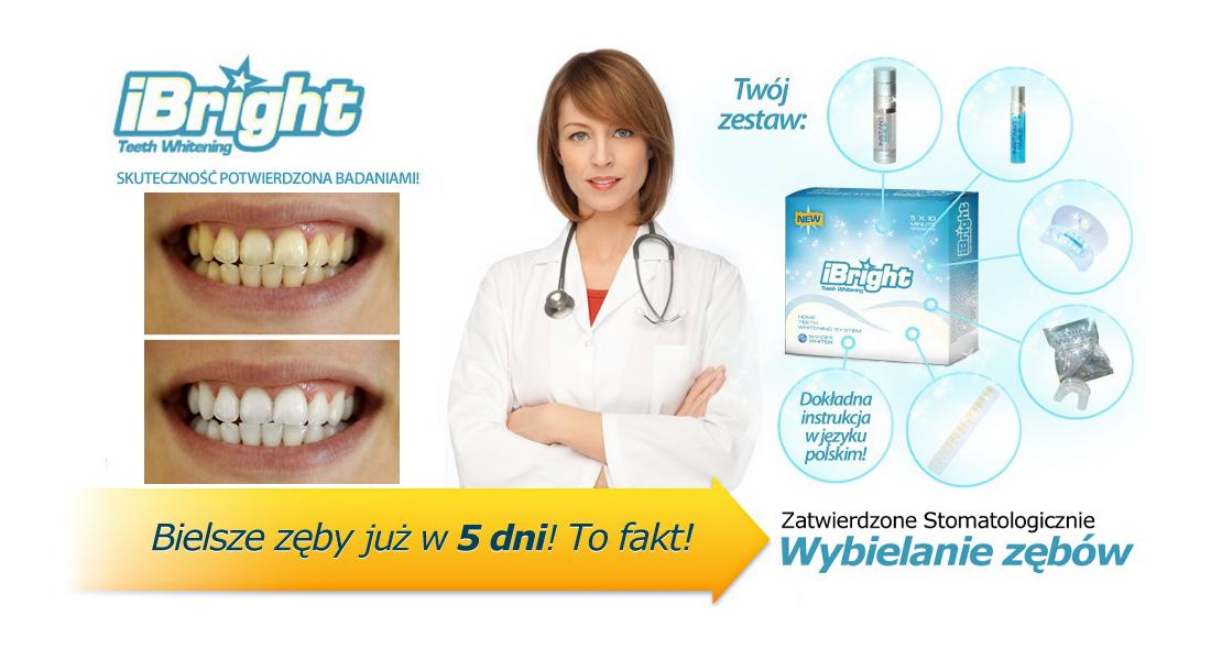 iBright - skuteczne wybielanie zębów