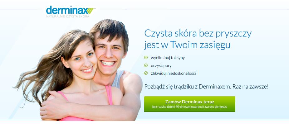 Derminax - tabletki na trądzik