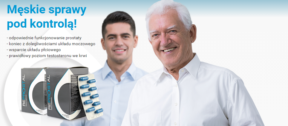 Reprostal - tabletki na prostatę