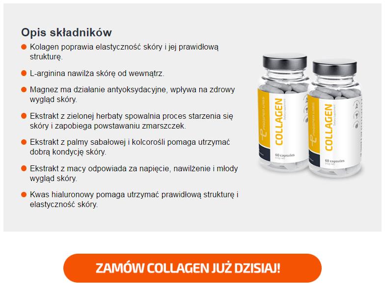 Collagen Prosper Labs - tabletki na zmarszczki