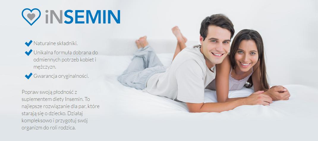 Insemin Men - tabletki na płodność u mężczyzn