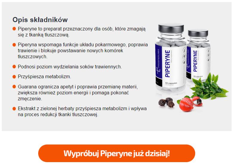 Piperine Prosper Labs - tabletki na odchudzanie