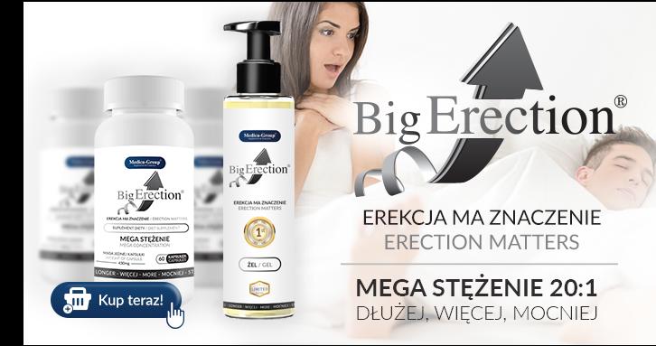 BigErection - tabletki na erekcję