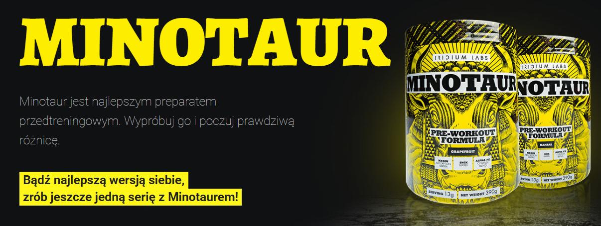 Minotaur - odżywka na przyrost masy mięśniowej