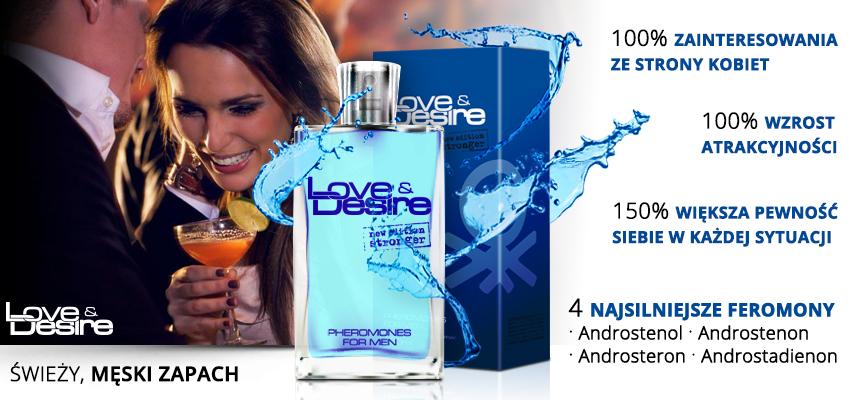 Love&Desire - perfumowane feromony dla mężczyzn