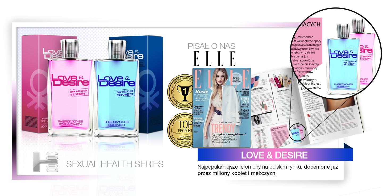 Love&Desire - perfumowane feromony dla kobiet