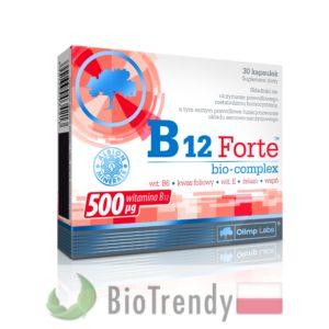 BioTrendy - B12 Forte Bio-Complex PL - tabletki z witaminami – tabletki z mineralami