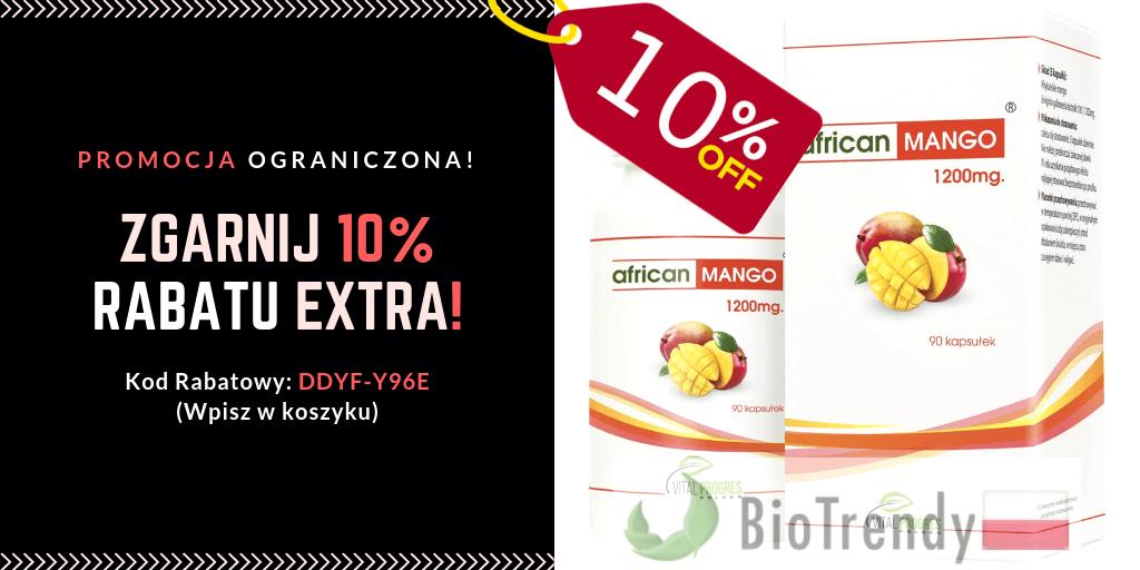 BioTrendy - African Mango Vital Progres - zniżki promocje kody rabatowy kupony