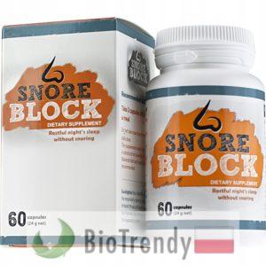 BioTrendy - SnoreBlock PL - tabletki na chrapanie – srodki przeciw chrapaniu