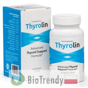 BioTrendy - Thyrolin PL - tabletki wspomagające tarczyce - tabletki na tarczyce