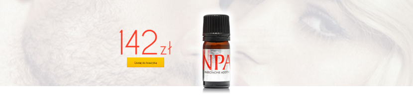NPA - bezwonne feromony dla mężczyzn