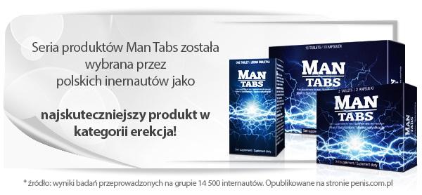 Man Tabs - tabletki na erekcję