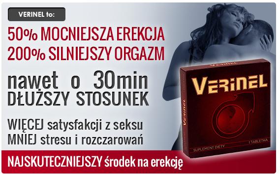 Verinel - tabletki na erekcję