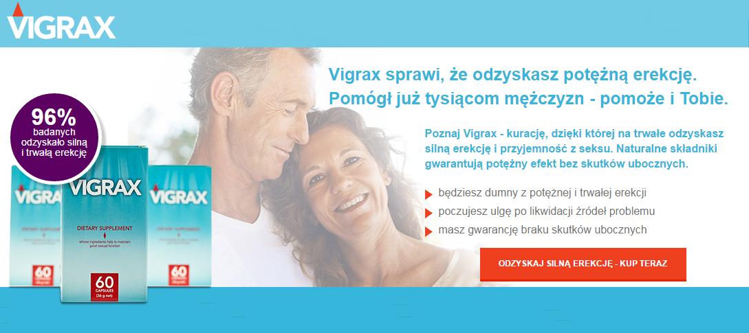 Vigrax - tabletki na erekcję