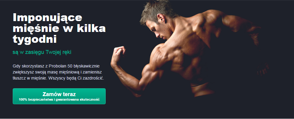 Probolan 50 - tabletki na przyrost masy mięśniowej