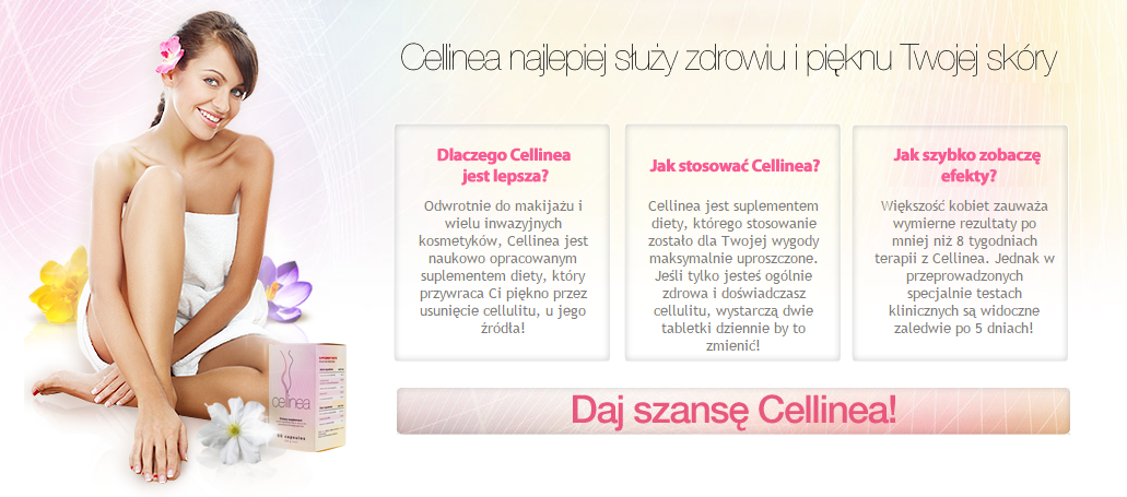 Cellinea - tabletki na cellulit