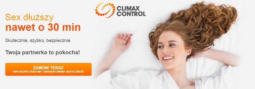 Climax Control – tabletki na przedwczesny wytrysk