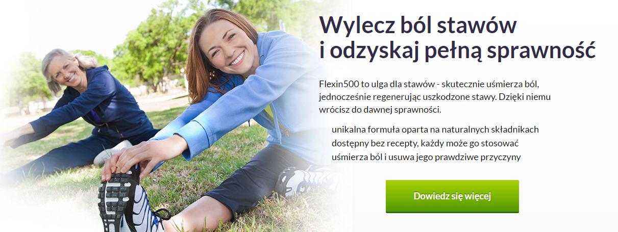 Flexin500 - tabletki na stawy