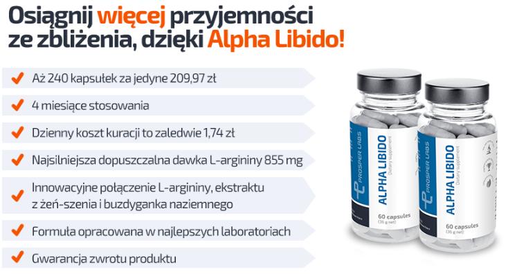Alpha Libido Prosper Labs - tabletki na potencję
