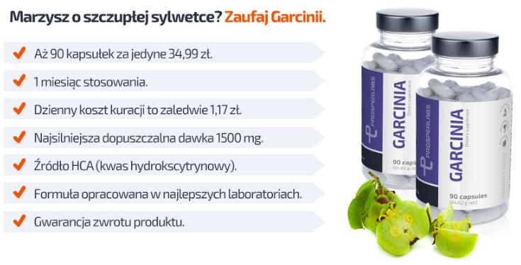 Garcinia Cambogia Prosper Labs - tabletki na odchudzanie