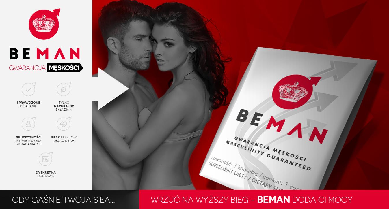 BeMan - tabletki na erekcję