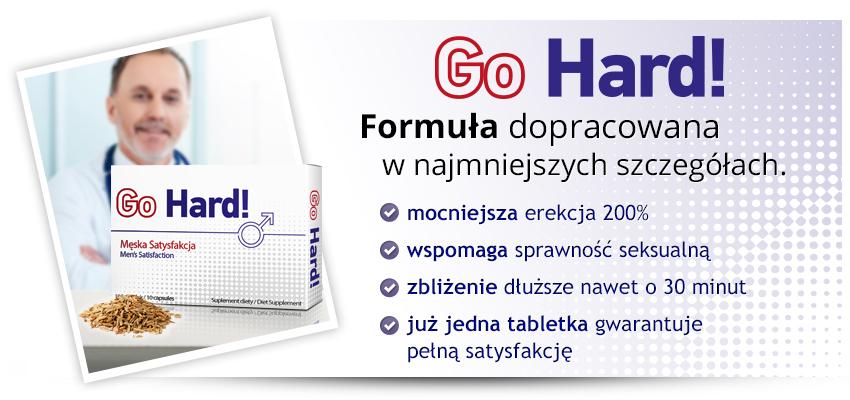 GoHard! - tabletki na erekcję