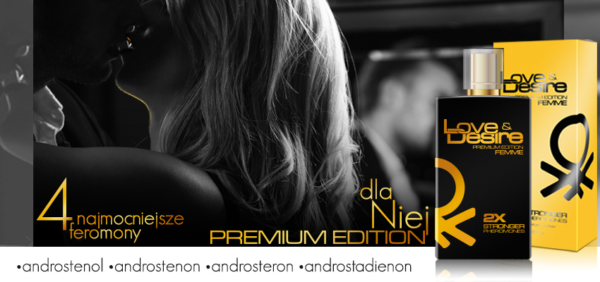 Love&Desire Premium Edition – perfumowane feromony dla kobiet