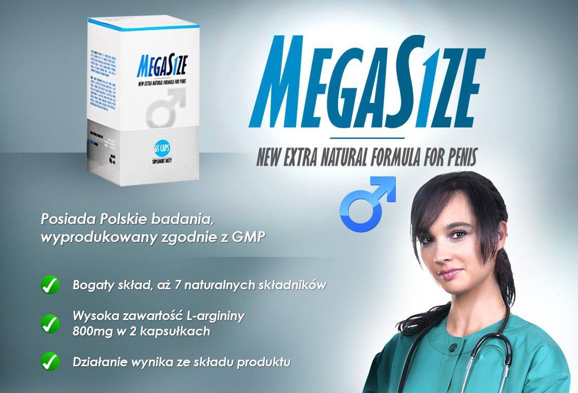 MegaSize - tabletki na powiększanie penisa