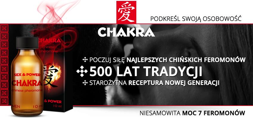 Chakra - perfumowane feromony dla mężczyzn