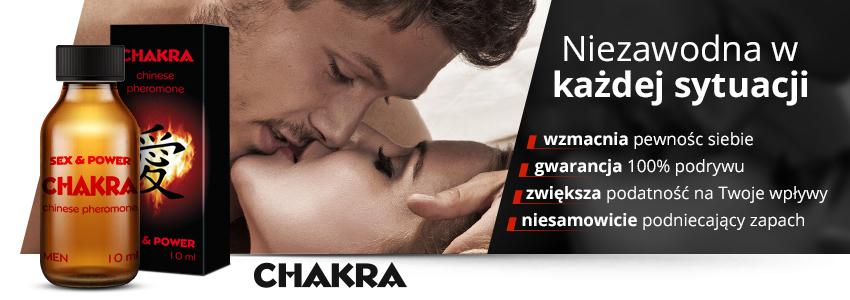 Chakra - perfumowane feromony męskie