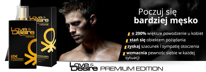 Love&Desire Premium Edition - perfumowane feromony dla mężczyzn