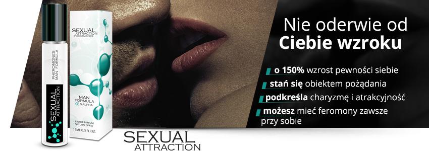 Sexual Attraction - perfumowane feromony dla mężczyzn