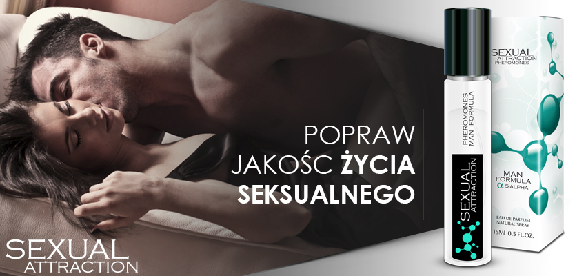 Sexual Attraction - perfumowane feromony męskie