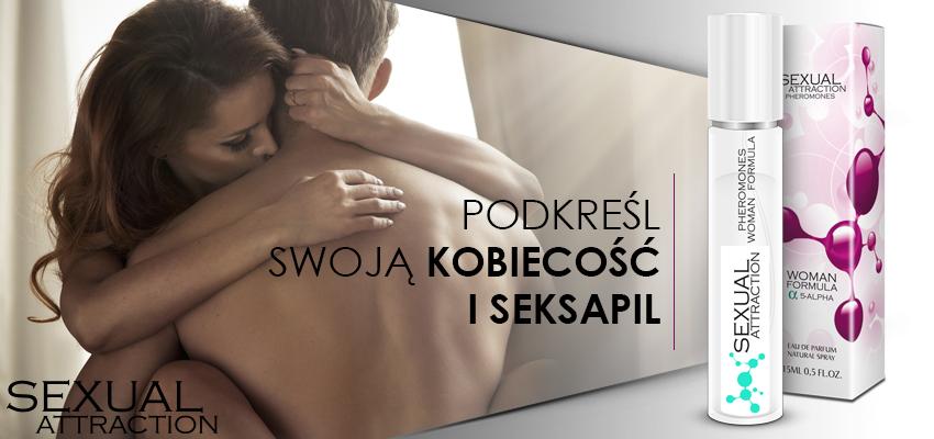 Sexual Attraction - perfumowane feromony damskie