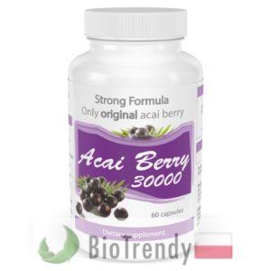 BioTrendy - Acai Berry 30000 PL - tabletki na odchudzanie - tabletki odchudzajace