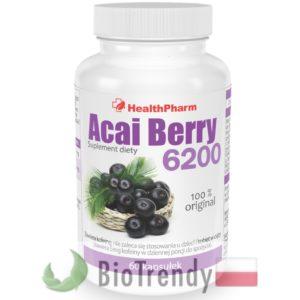 BioTrendy - Acai Berry 6200 PL - tabletki na odchudzanie - tabletki odchudzajace