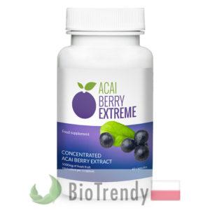 BioTrendy - Acai Berry Extreme PL - tabletki na odchudzanie - tabletki odchudzajace