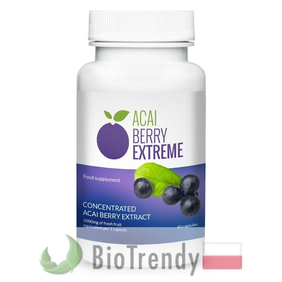 Acai Berry - Jagody acai - Euterpa warzywna - Euterpe oleracea - jagody acai cena - jagody acai właściwości