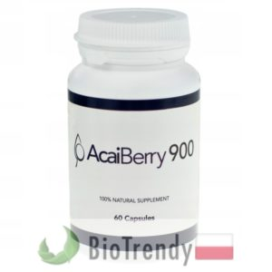 BioTrendy - AcaiBerry 900 PL - tabletki na odchudzanie - tabletki odchudzajace