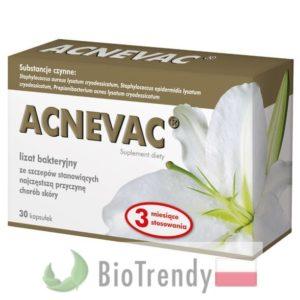 BioTrendy - Acnevac PL - tabletki na tradzik - tabletki na pryszcze