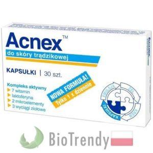 BioTrendy - Acnex PL - tabletki na tradzik - tabletki na pryszcze