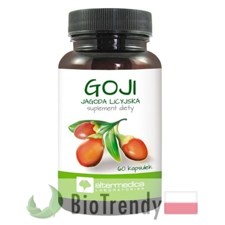 Goji Berry - Jagody goji - Jagody goji cena - Lycium chinense - Kolcowój chiński - jagody goji kcal