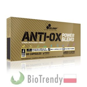 BioTrendy - Anti-Ox Power Blend PL - tabletki z antyoksydantami - antyoksydanty w tabletkach