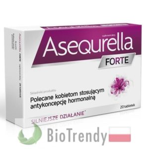 BioTrendy - Asequrella Forte PL - tabletki na libido u kobiet - tabletki na potencje dla kobiet