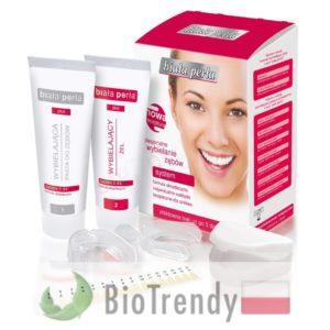 BioTrendy - Biała Perła System 5 Dni PL - wybielanie zebow - snieznobialy usmiech