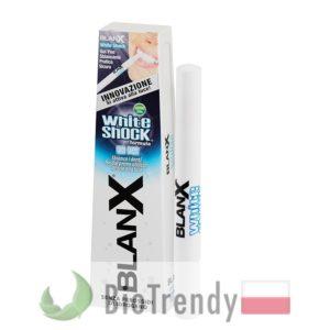BioTrendy - BlanX White Shock Gel Pen PL - wybielanie zebow - snieznobialy usmiech