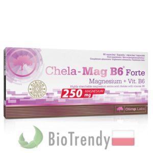 BioTrendy - Chela-Mag B6 Forte PL - tabletki z witaminami – tabletki z mineralami